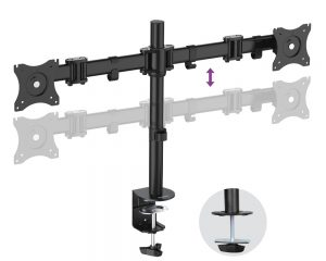DMCA220_front2_med-300x240 Articulating Desk Mounts - Elite Series
