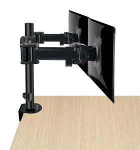 DMCA220_side1_med-280x300 Articulating Desk Mounts - Elite Series