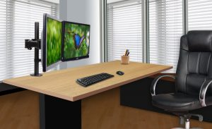 DMCA220_Lifesty-300x183 Articulating Desk Mounts - Elite Series