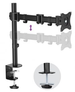 DMCA120_side1-1-243x300 Articulating Desk Mounts - Elite Series