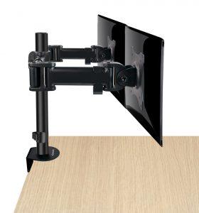 DMCA220_side1_med-280x300 Articulating Desk Mounts - Elite Series