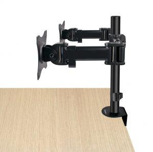 DMCA220_side2_med-300x298 Articulating Desk Mounts - Elite Series