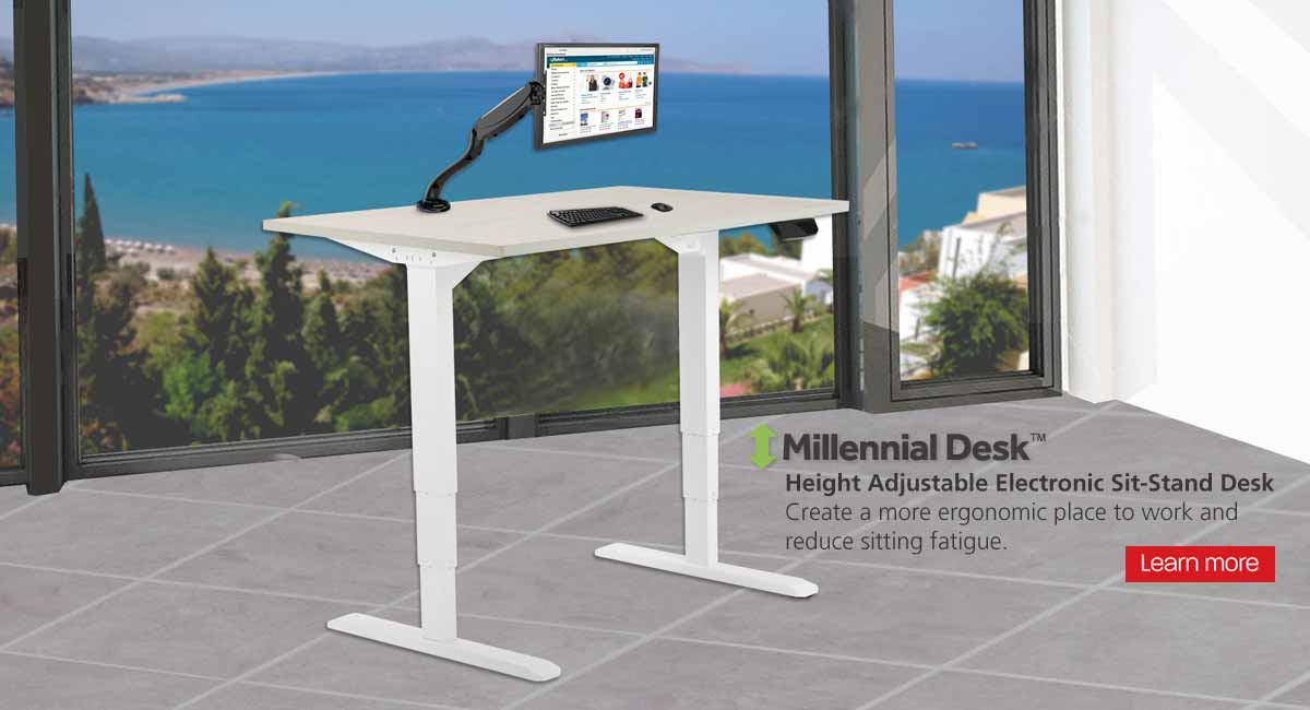 Sit Stand Banner Diamond Ergo